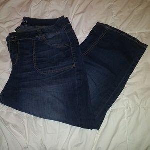 Lane Bryant Crop Capri Jeans EUC